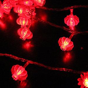 Dây đèn led lồng đèn đỏ