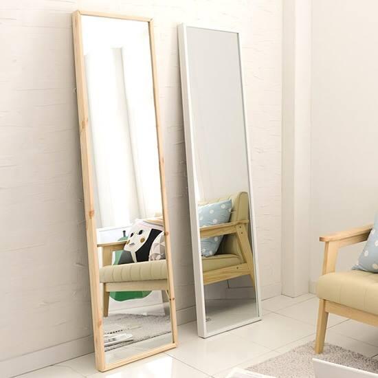 gương soi toàn thân khung gỗ giá rẻ
