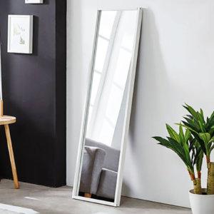 Gương soi toàn thân khung trắng