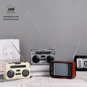 Mô hình Tv Radio trang trí cổ điển
