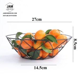 Rổ đựng trái cây bằng sắt phong cách Bắc Âu