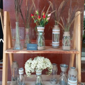Bình cấm hoa handmade