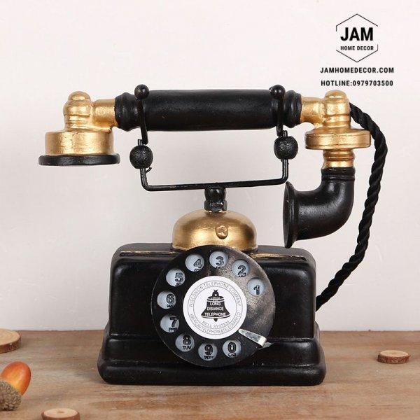 Điện thoại cổ trang trí